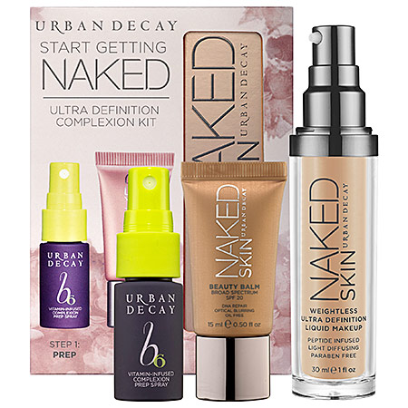 Urban Decay Start Getting Naked