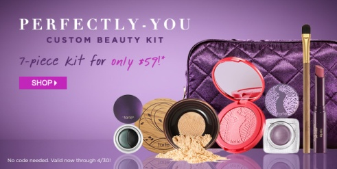 Tarte Costom Beauty header